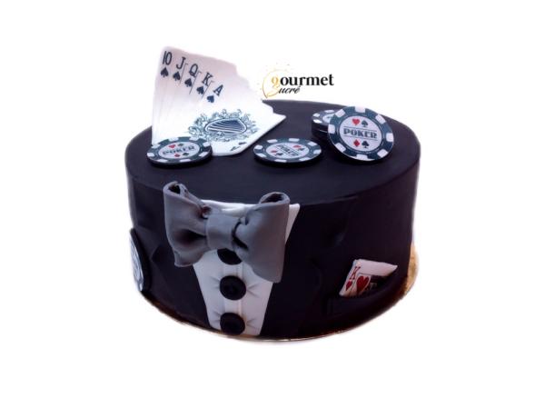 GourmetSucré vous propose les cakes designs pokers