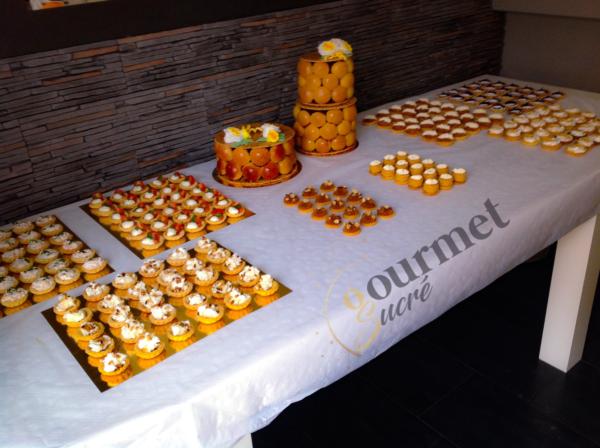 GourmetSucré vous propose le buffet mignardises sucré/salé