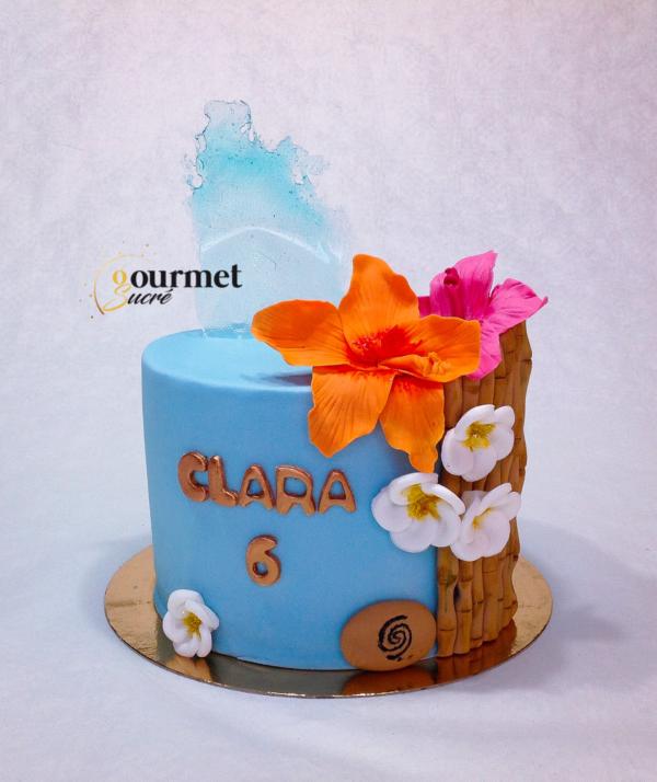 GourmetSucré vous propose les cakes designs vaiana